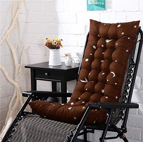 Gboxer Verdik kussen voor zonnestoel, terras, schommelstoel, vervangend kussen voor badstoel, vloerkussen voor stoel, terras, tuin antislip