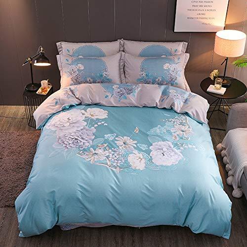 yaonuli Baumwolle vierteilige Twill Baumwolle Full-Activity große Version Druck vierteilige Set 1,5-1,8 Bettbezug 200 * 230cm