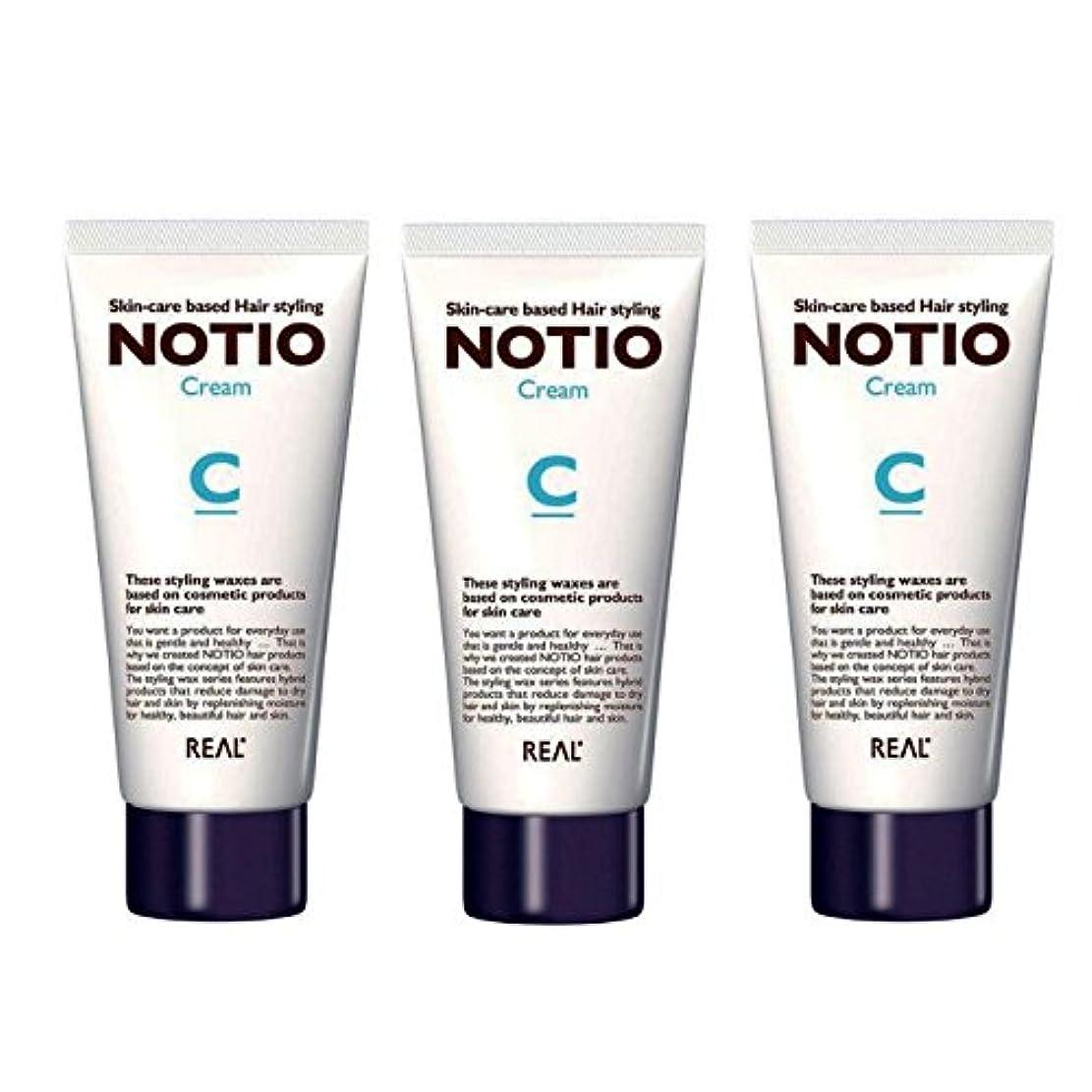 トレーニングホームレスインターネット【3個セット】NOTIO Cream ノティオ クリーム ( ヘアスタイリング?ハンドクリーム ) 90g