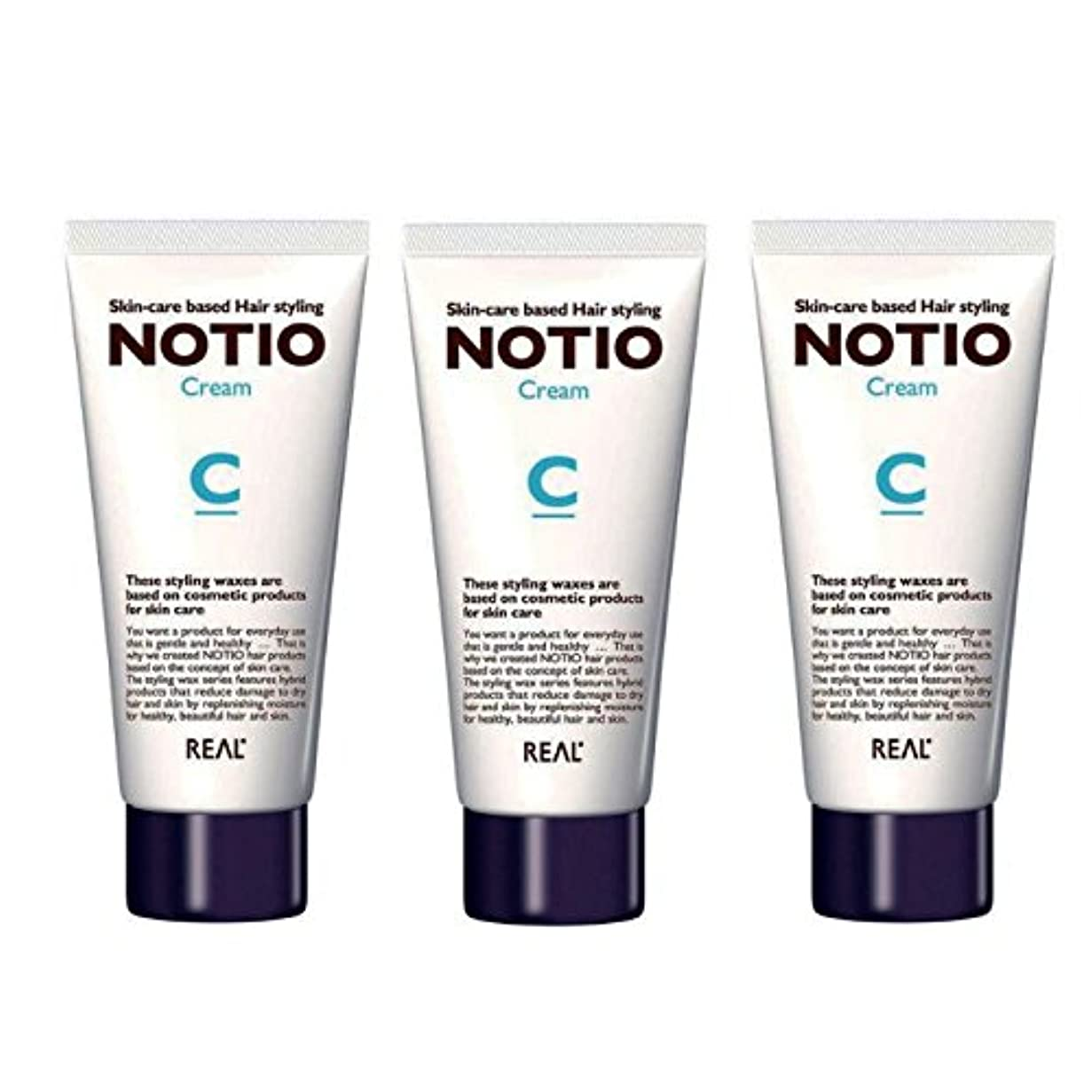 不愉快に条件付き真っ逆さま【3個セット】NOTIO Cream ノティオ クリーム ( ヘアスタイリング?ハンドクリーム ) 90g