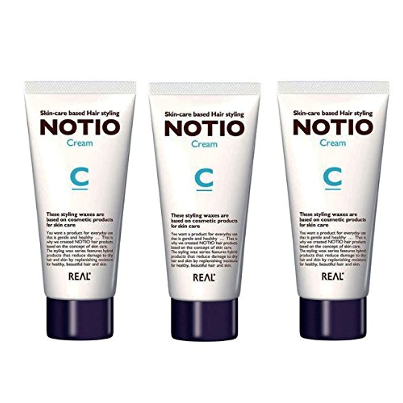 脱臼するスローガンチーフ【3個セット】NOTIO Cream ノティオ クリーム ( ヘアスタイリング?ハンドクリーム ) 90g