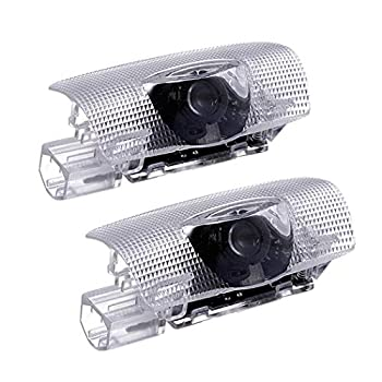 CHUNLING Compatible Toyota Door Logo Lights Projector LED 3D Shadow Ghost Light Puddle Lights for Toyota Highlander/Camry/ Prius/Sienna/Tundra/Venza/4 Runner Puddle Light Accessories 2 Pack