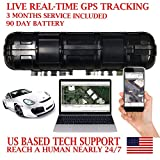 AES RGT90 GPS Tracker GPRS Mini Portable Vehicle Locating Tracking Device. PRE-Activated SIM Card with 3 Months Service Included!!! Waterproof Magnetic Case. Works up to 90 Days on a Single Charge.