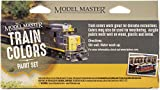 Testors Model Master Theme Paint Set 6/Pkg-Train Colors
