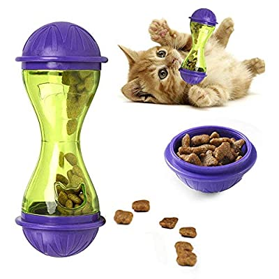 Pro-Noke Cat Treat Ball Interactive Cat Toys Food Dispenser IQ Treat Ball Snack for Cat by Pro-Noke
