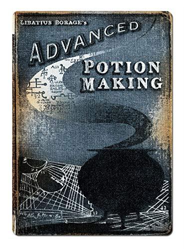 Advanced Potion Making Étain Mur Signe Affiche de Fer Métal Mur étain Panneau Attention Plaque Rétro décoration Murale pour Café Bar Hôtel Jardin Parc