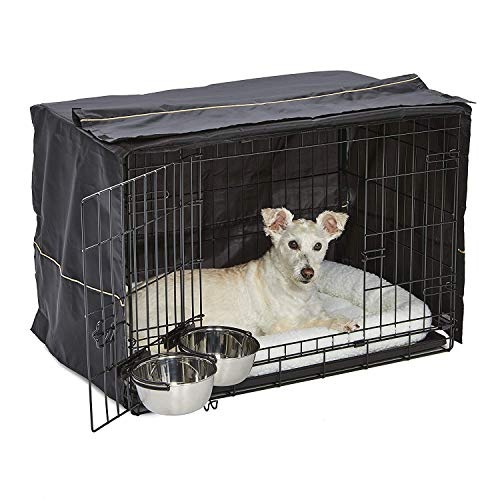 iCrate Dog Crate Starter Kit | 30-Inch Dog Crate Kit Ideal for Medium Dog Breeds (weighing 26 - 40...