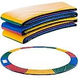 Arebos Trampolin Randabdeckung Federschutz | 183, 244, 305, 366, 396, 457 oder 487 cm | aus PVC und...