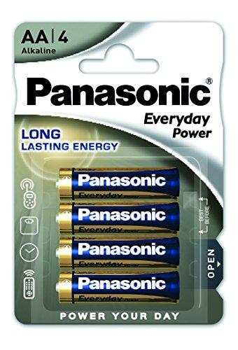 Panasonic LR6EPS/4BP Pile alcaline jetable pour Appareil électronique