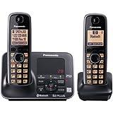 Panasonic KX-TG7622B DECT 6.0 Link-to-Cell via Bluetooth Cordless...
