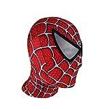 JHDUID Spiderman Kopfbedeckung Maske Erwachsene Maskerade Halloween Weihnachten Performance Party...