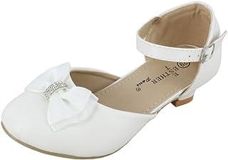 208e743fbae73 Boutique-Magique Ballerines Filles à Talons pour Mariage, Communion et  baptême