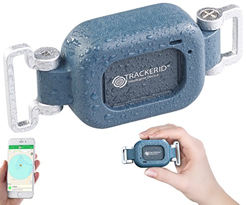 TrackerID GPS Ortung: WLAN-, GPS- & GSM-Live-Tracker mit App, Gegensprecher, Halterung, IP67 (GPS Tracking)