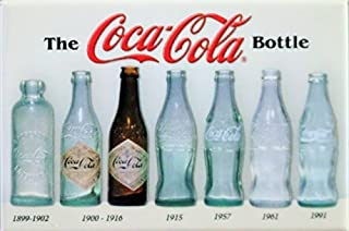 (2x3) Coca Cola Coke Bottle History Retro Vintage Locker Refrigerator Magnet by Poster Revolution