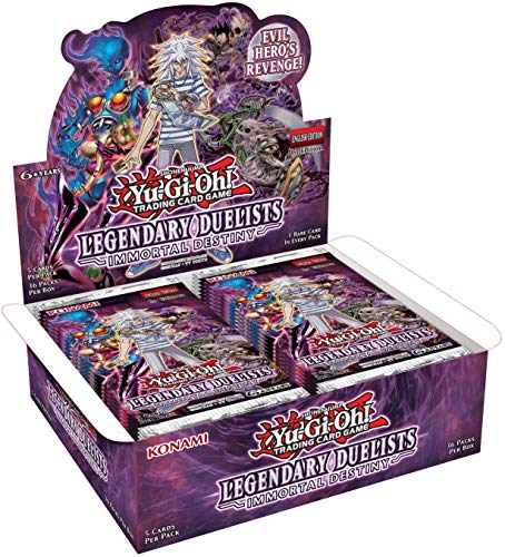 Yu-Gi-Oh KONLED5 Legendary Duelists Immortal Destiny Booster Display met 36 verpakkingen