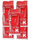 EnviroCare Replacement Vacuum Bags for Royal Dirt Devil Stick Vac Type K 15...