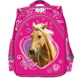 Horse Children's Backpack Small Backpack Nursery School School School School School School Class Ride Horse