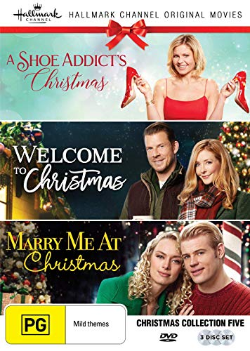 Hallmark Christmas 3 Film Collection (A Shoe Addict's Christmas/Welcome to Christmas/Marry Me at Christmas)