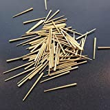 """KEVNATSS Clock Repair Tapered pins Brass 100 Count Size .030"""" to .065"""" x 1"""""""