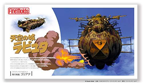 ファインモールド 天空の城ラピュタ 飛行戦艦ゴリアテ (全長約20cm)ノンスケール (1/20スケール ムスカ大...