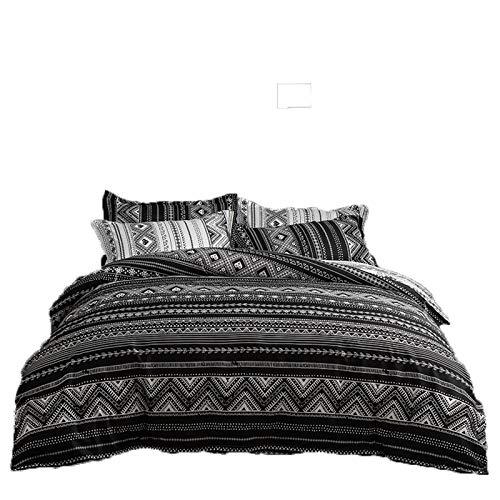 Ropa De Cama, Textiles para El Hogar, Funda Nórdica Moderna, Simple Y Atmosférica, Traje De Tres Piezas Suave, Agradable para La Piel Y Fácil De Limpiar 200x230cm