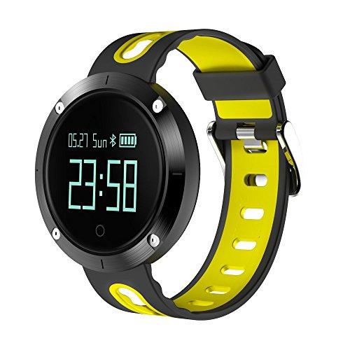 Kxcd DM58Smart bracciale braccialetti, frequenza cardiaca fitness tracker BT 4.0OLED touch screen Smart Band pedometro orologio con monitoraggio del sonno, Activity Tracker per iPhone Android Smartphone