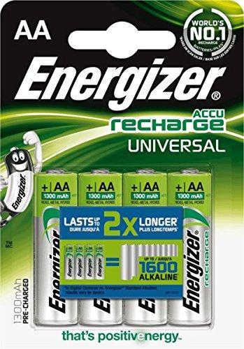 Energizer universel 635672/batteries aA mignon hR6 1300mAh, capacité 4