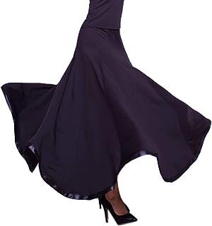 社交ダンス スカート(単品)ステージ衣装 ダンス衣装 スタンダードドレス ロングスカートスカートモダン衣装 練習着 競技着 発表会 豪華 演出用 レディース ダンスウェア