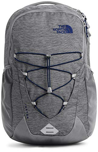 The North Face Jester Backpack, Zinc Grey Light Heather/Flag Blue, One Size