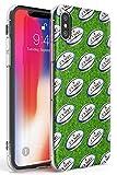 Ballon de Rugby Motif Slim Coque pour iPhone XR TPU Protecteur léger Phone Cover avec Sport Patterns WRU Cymru 6 Nations