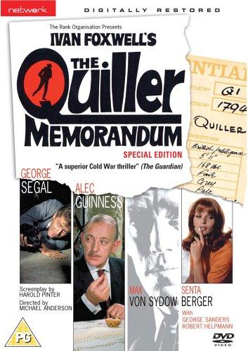 The Quiller Memorandum [1966] [Reino Unido] [DVD]