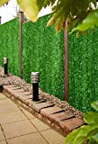 Best Artificial Conifer Screening Roll Privacy Hedging Wall Landscaping Garden Fence **UV Fade Protected** (3m x 1m)