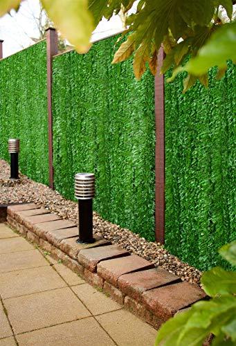 Best Künstliche Nadelbaumzaun, Sichtschutz-Hecke, Wandpaneel, Landschaftsbau, Gartenzaun, UV-Schutz vor Verblassen