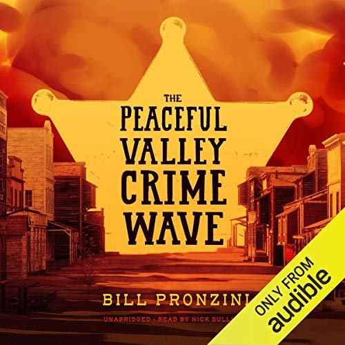 The Peaceful Valley Crime Wave audiobook cover art
