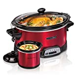 Hamilton Beach Stay or Go Programmable 7 Qt. Slow Cooker with Party Dipper 33478