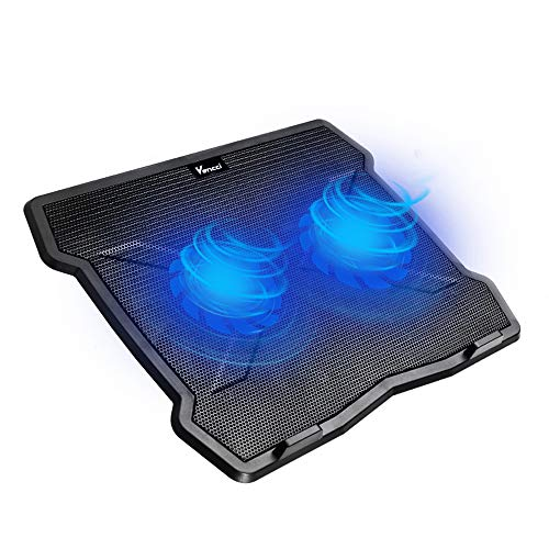 Portable Ultra Slim USB Powered Gaming Laptop Cooling Pad, Laptop Table Cooling Stand, 12-15.6 Inch Laptop Cooler Pad