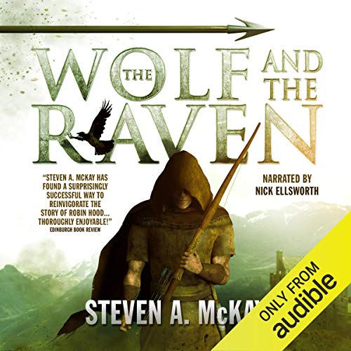 The Wolf and the Raven cover art