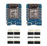 SP-Cow Placa de Desarrollo ESP8266 ESP-12F 4M Bytes WLAN WiFi,Placa de Desarrollo de...