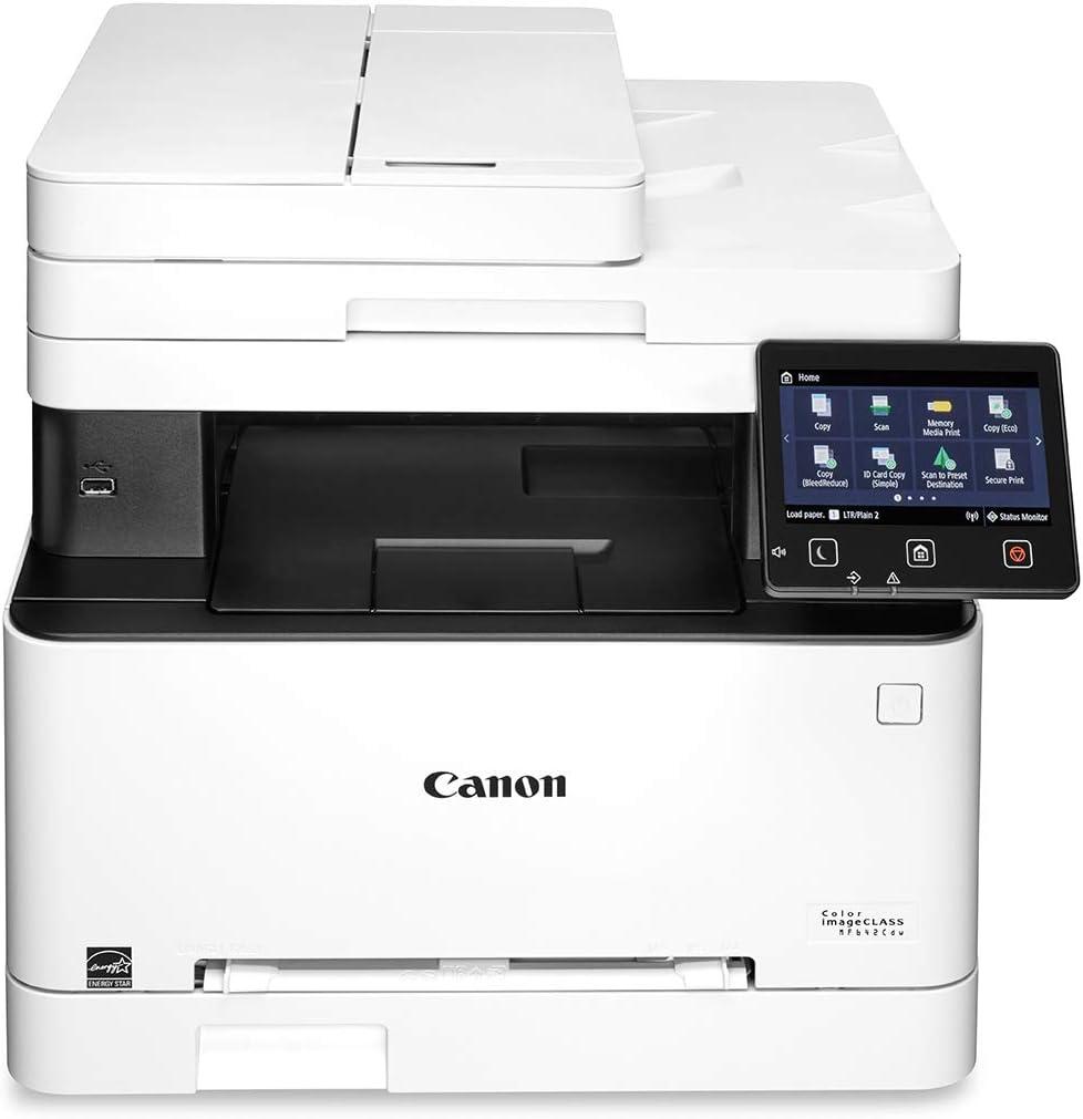 Canon imageCLASS MF642Cdw Wireless Color All-in-One Laser Printer
