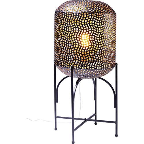 Kare Design Stehleuchte Oasis 69cm, Stehleuchte exotisch, Bodenlampe orientalisch, (H/B/T) 69x32x32cm