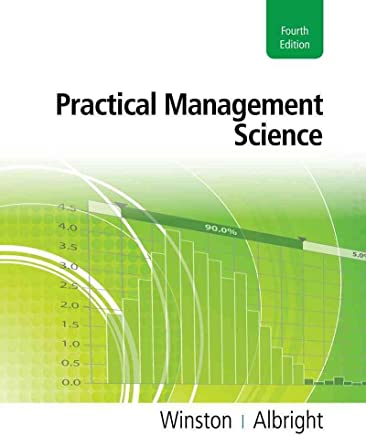 [(Practical Management Science)] [By (author) Wayne L Winston ] published on (May, 2011)