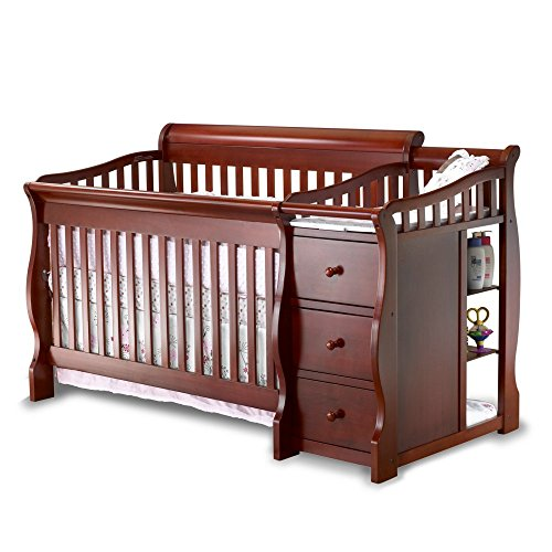 Buy Discount Sorelle Tuscany 4-in-1 Convertible Crib and Changer Combo