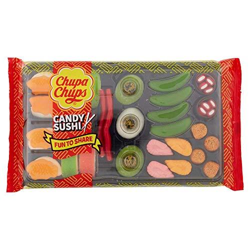 Chupa Chups Candy Sushi, Mix di Caramelle Gommose, Gusto Frutti Assortiti, 1 Confezione da 270 gr, Ottimo da Condividere