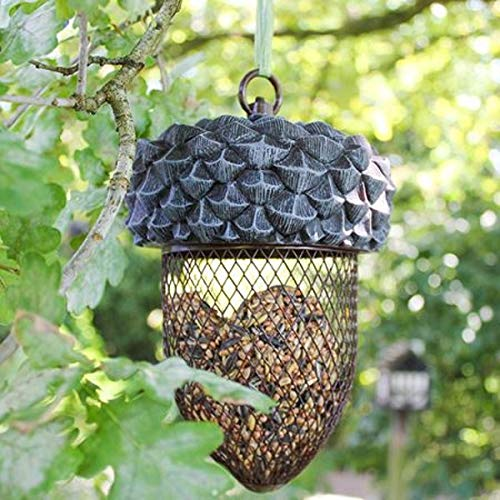 Best For Birds Vogel-Futterstelle Eichel Futterspender Vogelfutterstation Vogelfuttersäule