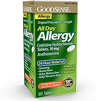 365-Count GoodSense All Day Allergy Hydrochloride Tablets 10 mg