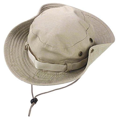Winkey Camping, Cap, Mütze, Hut, Jagd Angeln Outdoor-Schirm, beige