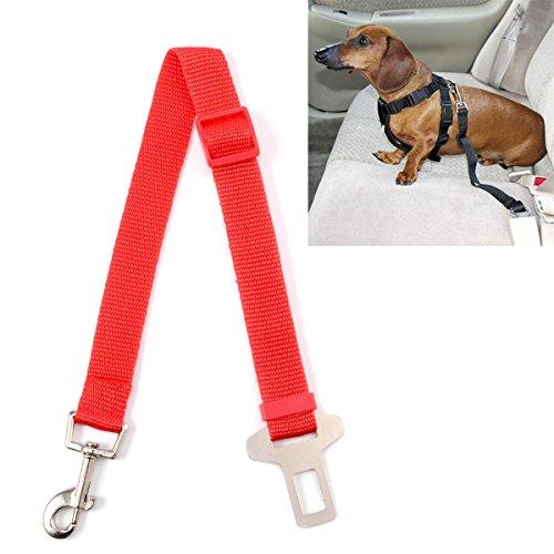Surepromise Hundegurt Autogurt Sicherheitsgurt Anschnallgurt Hundeleine Hunde Transport Tier 4 Farben 69 cm