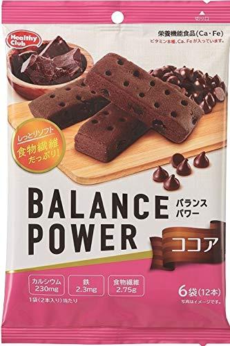 ハマダコンフェクト バランスパワー ココア 6袋(12本入)×5個