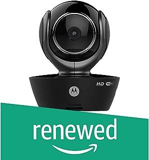 (Renewed) Motorola FOCUS85-B Wi-Fi HD Home Monitoring Camera with Remote Pan, Tilt and Zoom (Black)