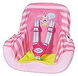 Zapf-827512 Zapf 827512 Baby born-Asiento infantil para coche, color carbón , color/modelo surtido